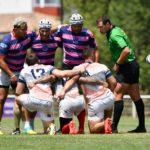 Rejoins nous : Equipe masculine de Rugby à 7 de l'association Esprit Sud Sevens, lors d'un match de rugby à 7
