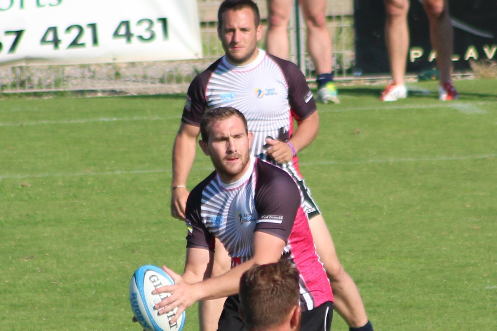 Maxime Castell, directeur général de l'association de rugby à 7, Esprit Sud Sevens qui aidera à encadrer le Sevens Summer Camp.
