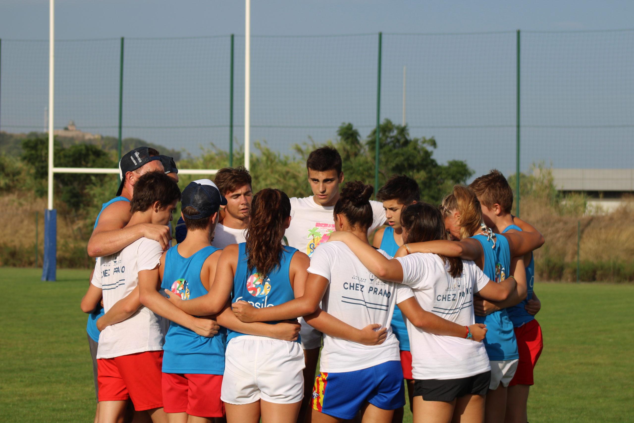 Le retour du stage de rugby à 7 pour les jeunes