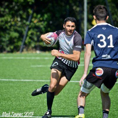 Anthony Pranovi, le trésorier de l'association de rugby à 7 Esprit Sud Sevens et membre de l'équipe Esprit Sud Sevens de rugby à 7, qui aidera à encadrer le Sevens Summer Camp.